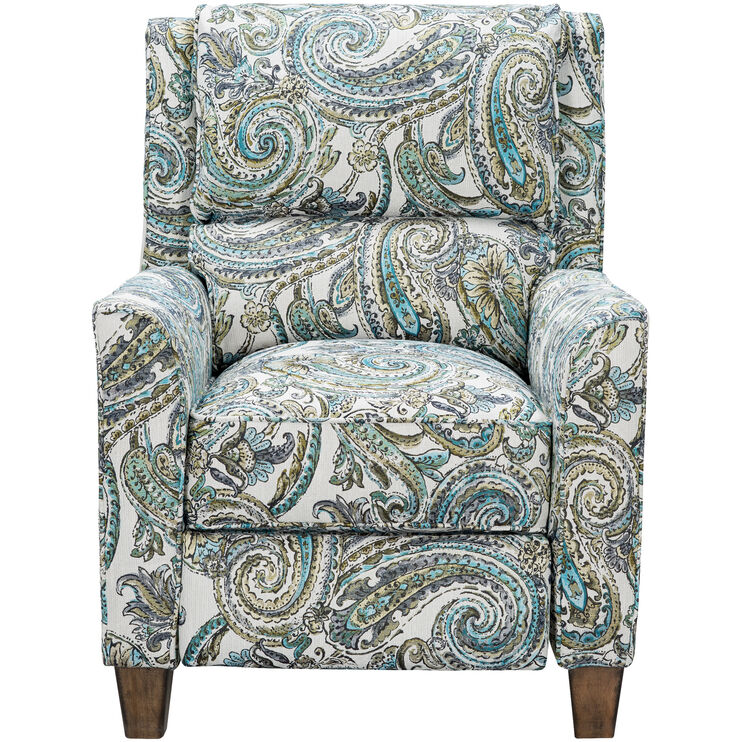 Slumberland Furniture Percy Seaglass Leg Recliner