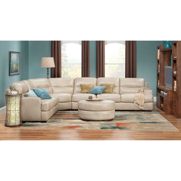 New Haven 4Pc Pebble Sectional