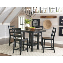 Glennwood Black 5 Piece Counter Dining Set