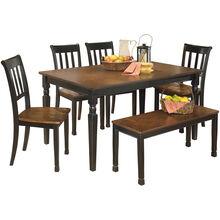 Ortonville Black Dining Set