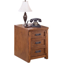 Cross Island Brown File Cabinet