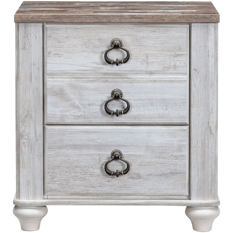 Willowton Whitewash Nightstand