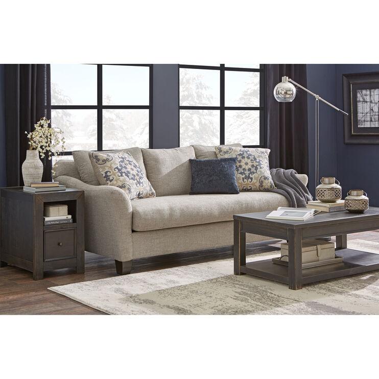 Slumberland Furniture Rhine Gray Sofa