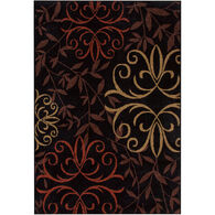 Four Seasons Josselin Black 5 x 8 Rug