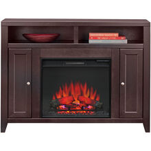 Lockwood Mocha Fireplace Console