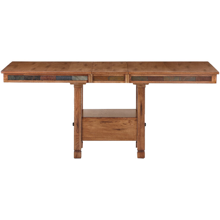 Sedona Rustic Oak Dining Table