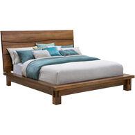 Ocean Natural Brown Queen Bed