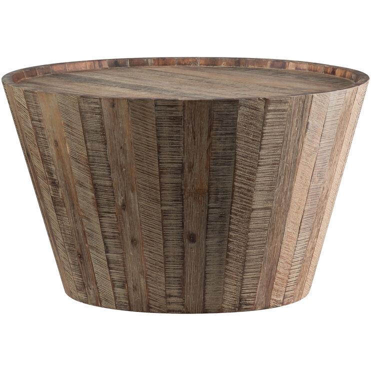 Conundrum Distressed Acacia Coffee Table
