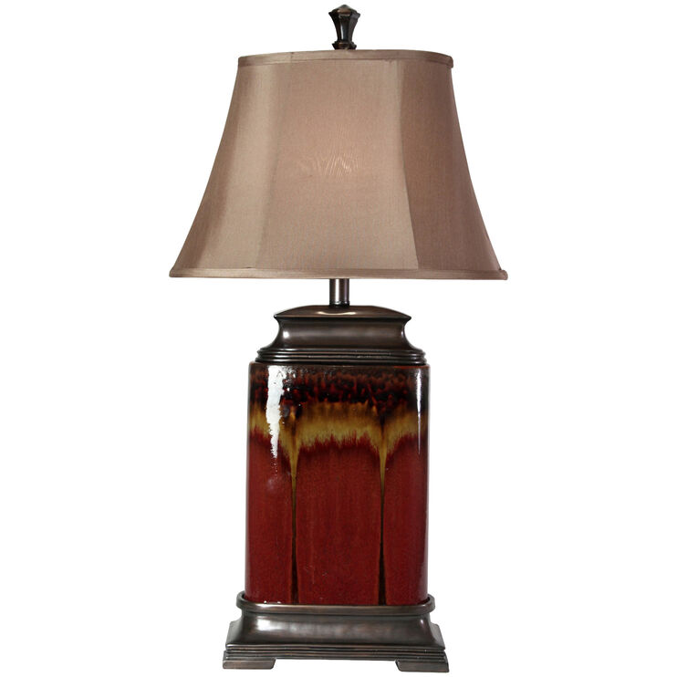 Dunbrook Red Table Lamp