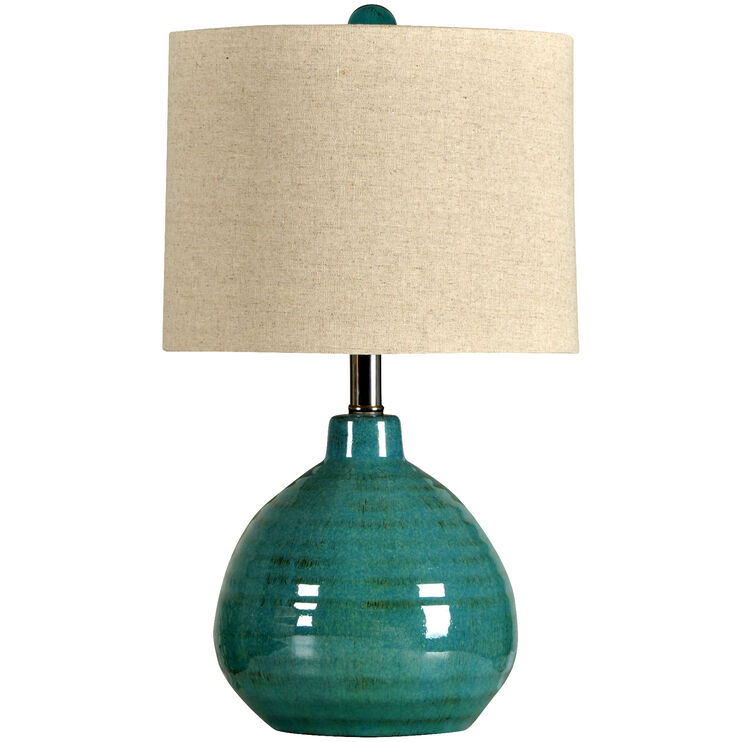 Vinton Teal Accent Lamp