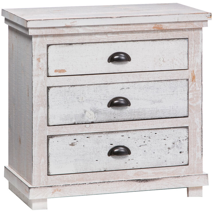 Willow White Nightstand