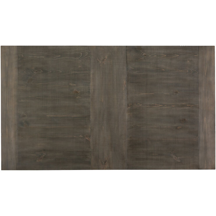 Willow Distressed Gray Rectangular Counter Table