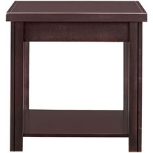 Lockwood Mocha End Table