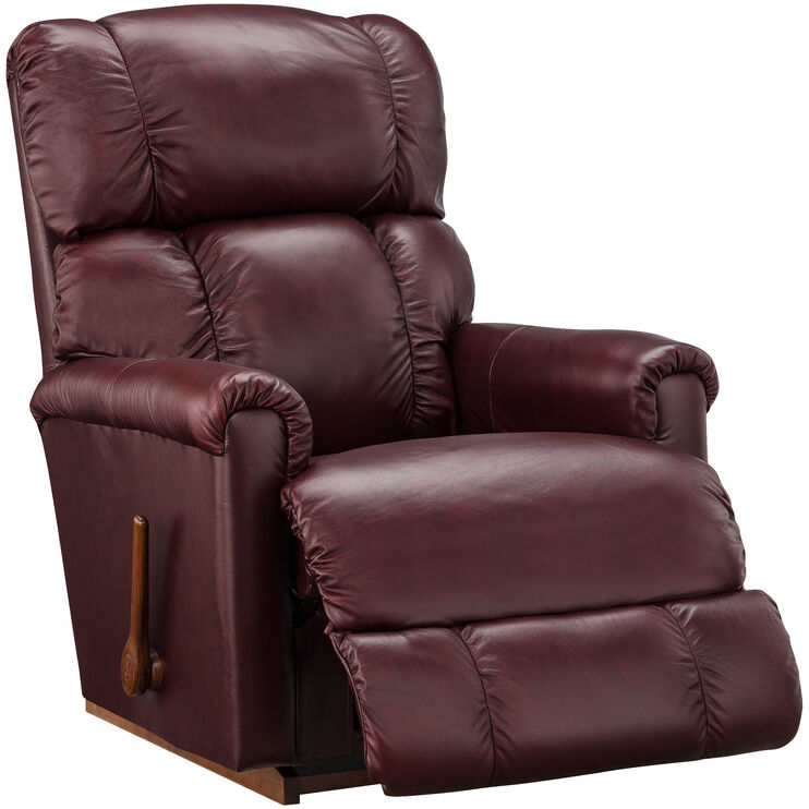 Slumberland Furniture La Z Boy Pinnacle Merlot Rocker