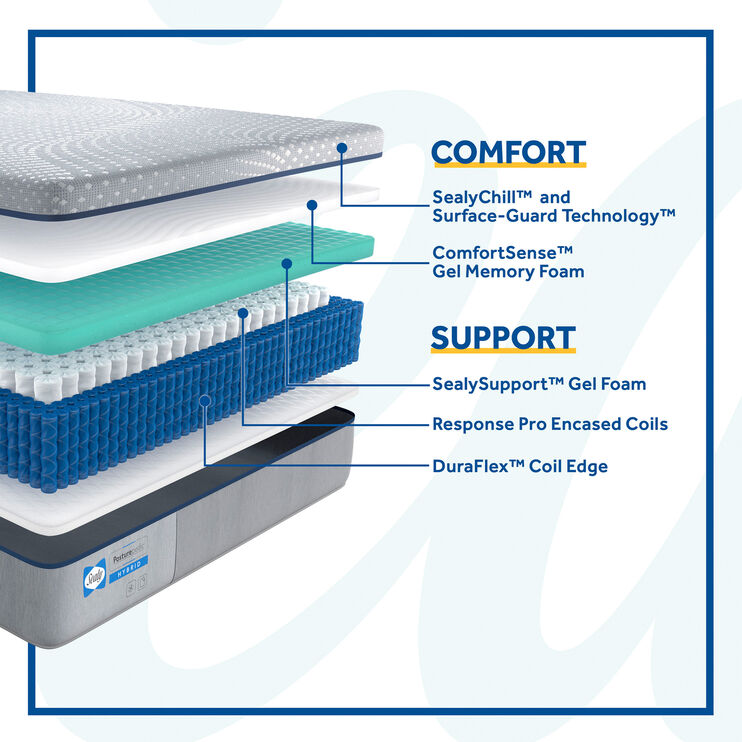 Lacey Firm Hybrid King Mattress