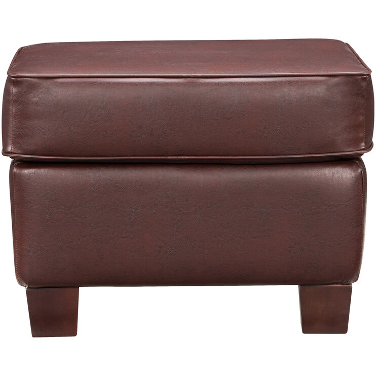 Johnston Saddle Ottoman