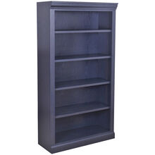 Classic 60 Inch Charcoal Bookcase