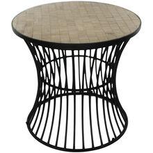 Fano Black Side Table