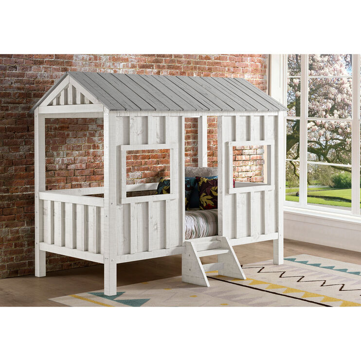 House White Twin Bed