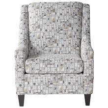 Whitmore Travertine Accent Chair