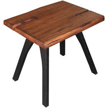 Dana Point Rustic Brown End Table