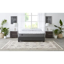 Sealy Seafront Luxury Firm Queen Mattress with Modern Queen Base
