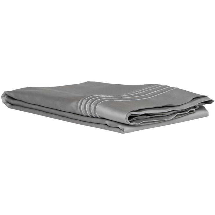 Queen Gray Ultra Pillowcase