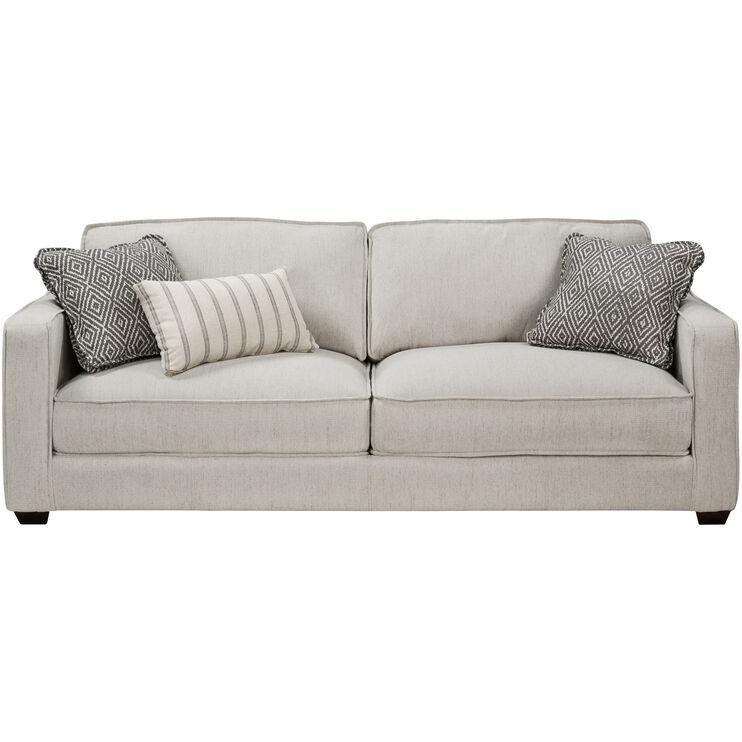 Slumberland Furniture Miles Pearl Sofa