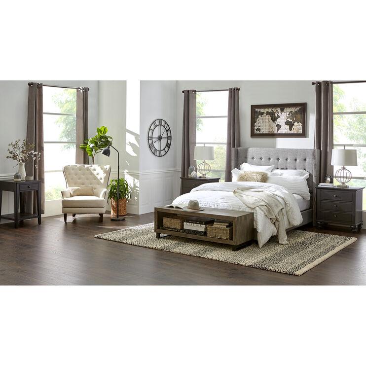 Taylor Gray Queen Bed
