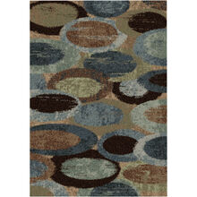 Majestic Pulpit Blue 8 x 11 Rug