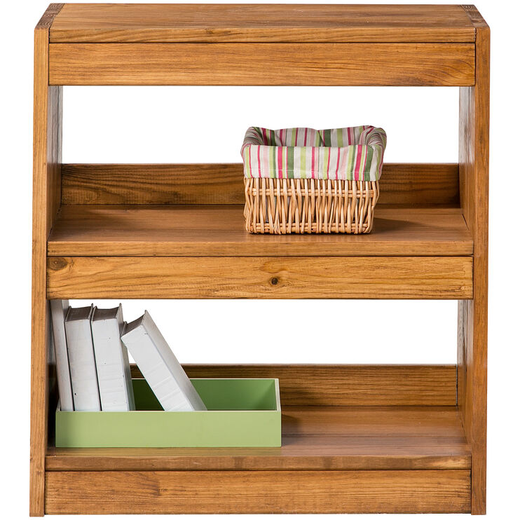 Ashville Honey Bookcase