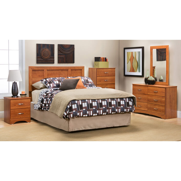 Jacob Oak 4 Piece Headboard Package
