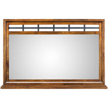 Whistler Retreat Dark Walnut Mirror