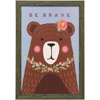 Brave Bear Framed Art