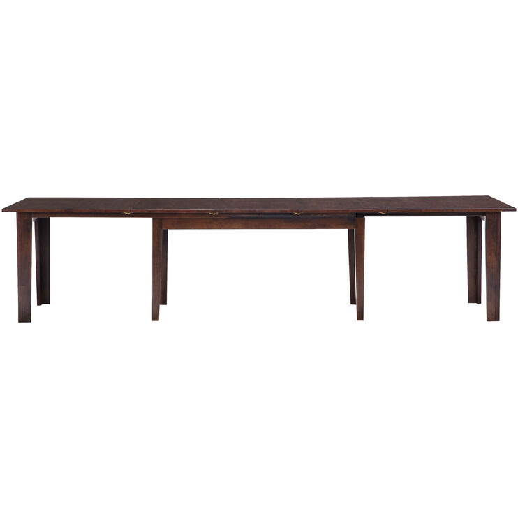 Kona 130 Inch Raisin Dining Table
