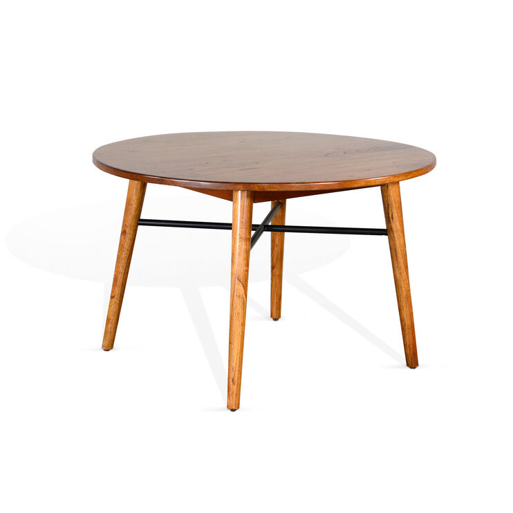 Awesome American Modern Cinnamon Round Dining Table Slumberland Download Free Architecture Designs Itiscsunscenecom