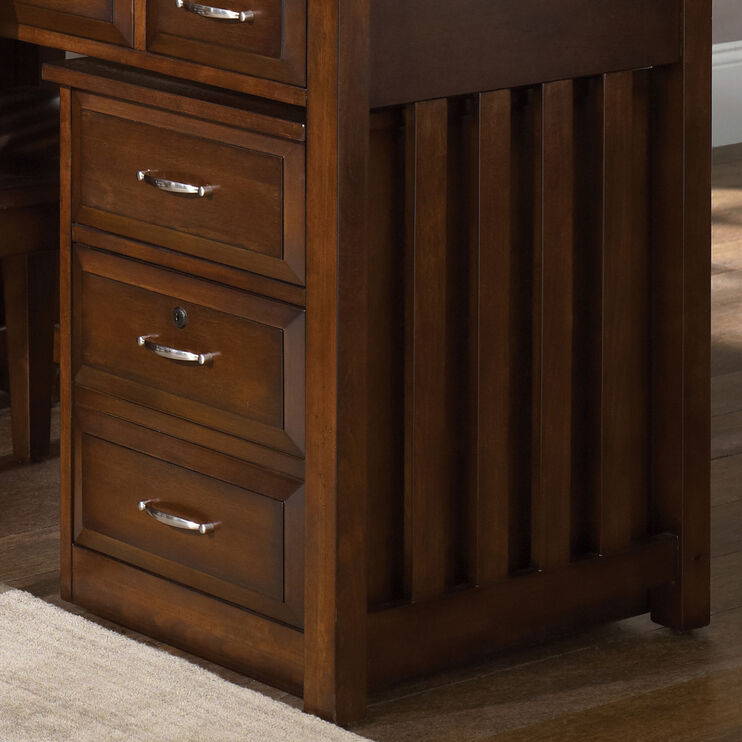 Hampton Bay Cherry File Cabinet