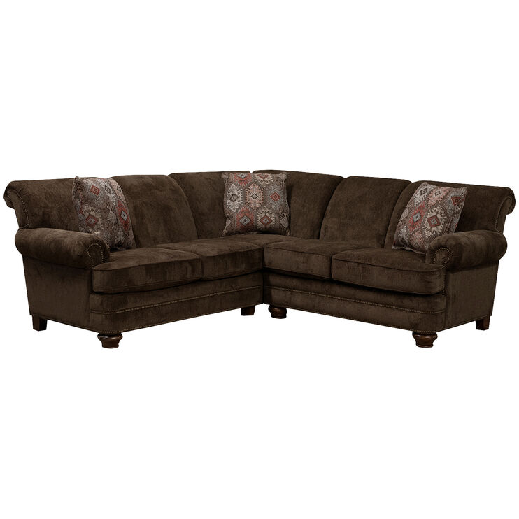 Wiltshire Bark 2 Piece  Sectional
