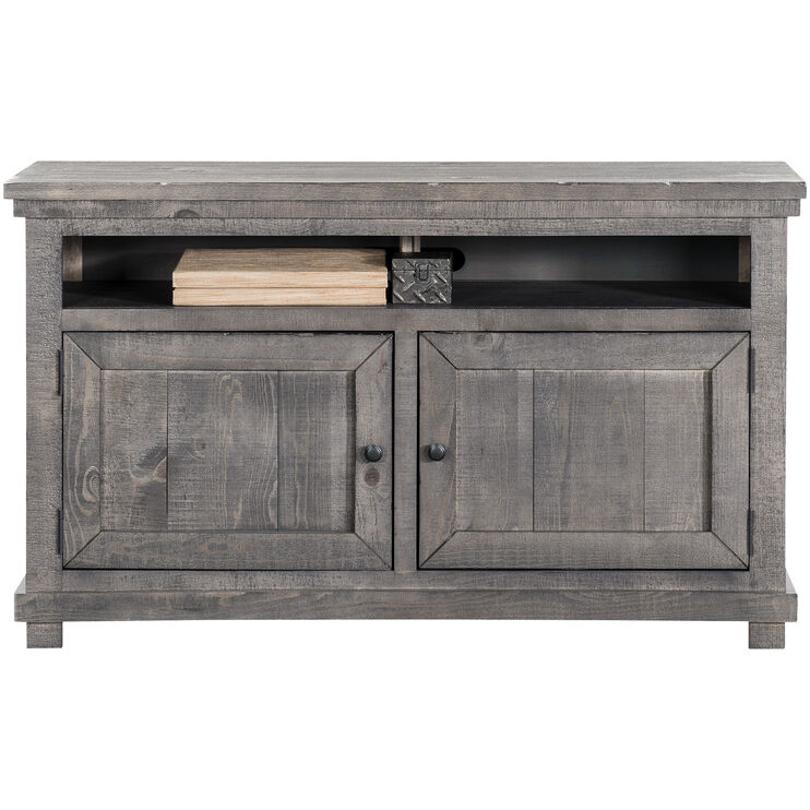 Willow Distressed Gray 54 Inch Console