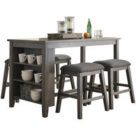 Caitbrook 5 Piece Backless Dining Set