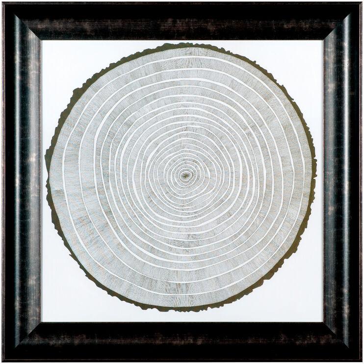 Tree Cross Cuts Tree Theory Wall Art