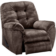 Bellows Brown Rocker Recliner