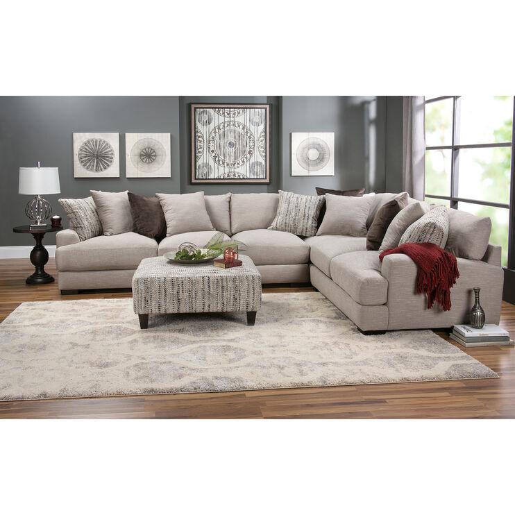 Slumberland Furniture Wake 4 Piece Dusk Sectional
