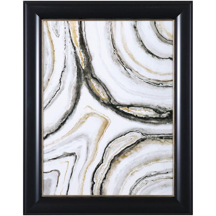 Shades of Gray II Framed Art