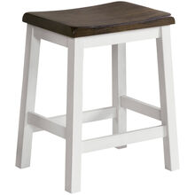 Kona Gray 24 Inch Backless Stool