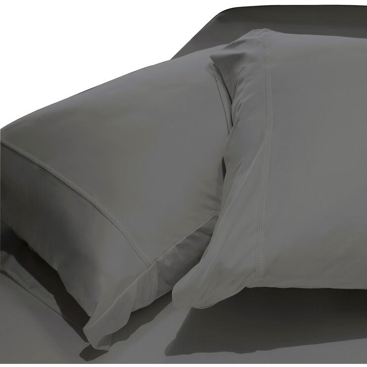 SHEEX Aero Fit Graphite Queen Pillowcase Set