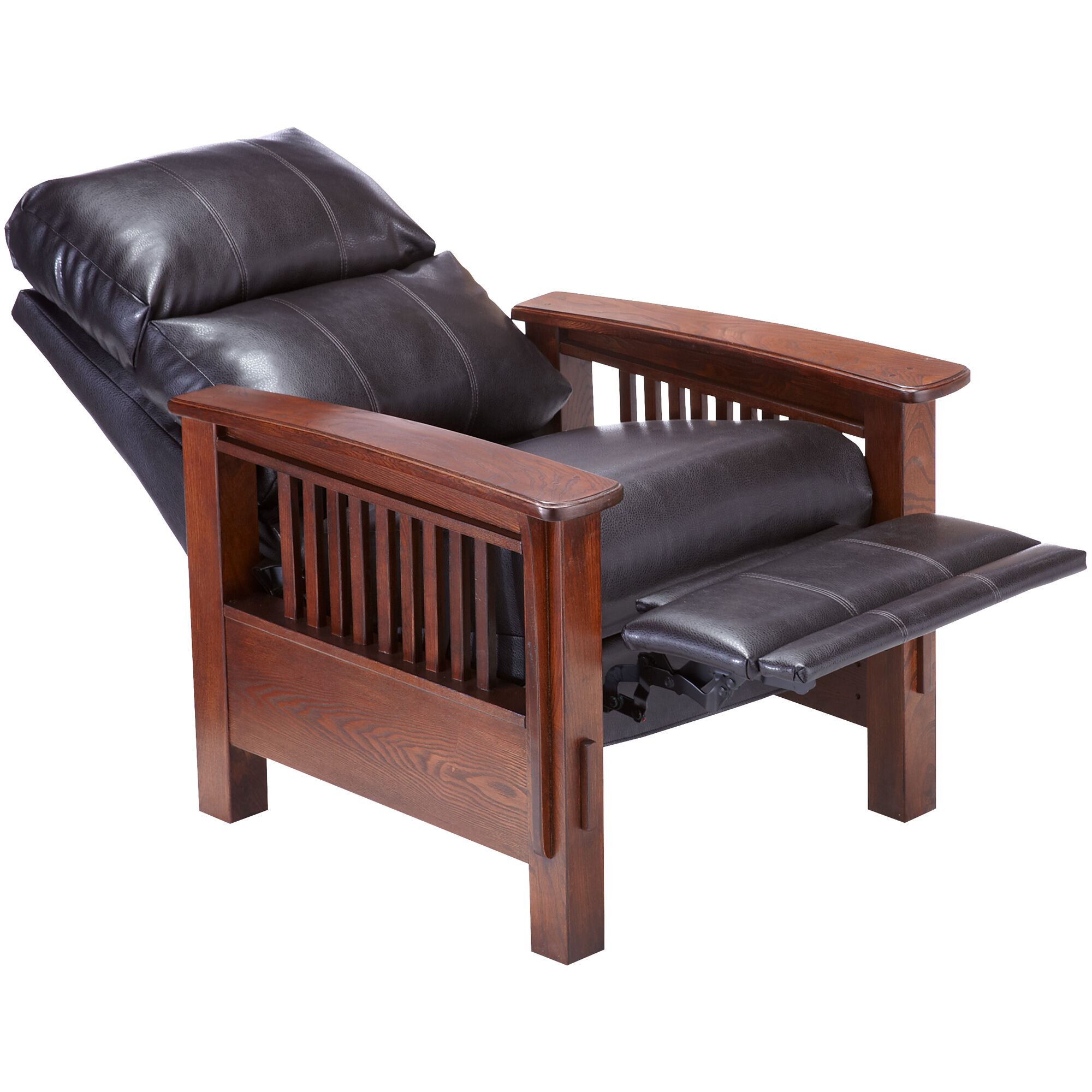 Wright Chocolate Recliner. Ashley Furniture