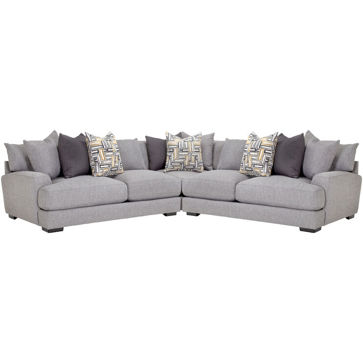 Wake Ash 3 Pc Sectional