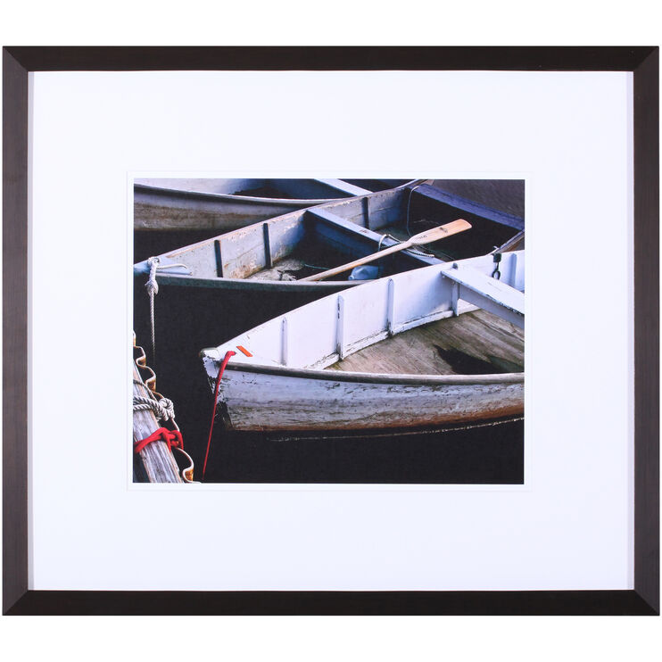 Wooden Rowboats V Framed Art