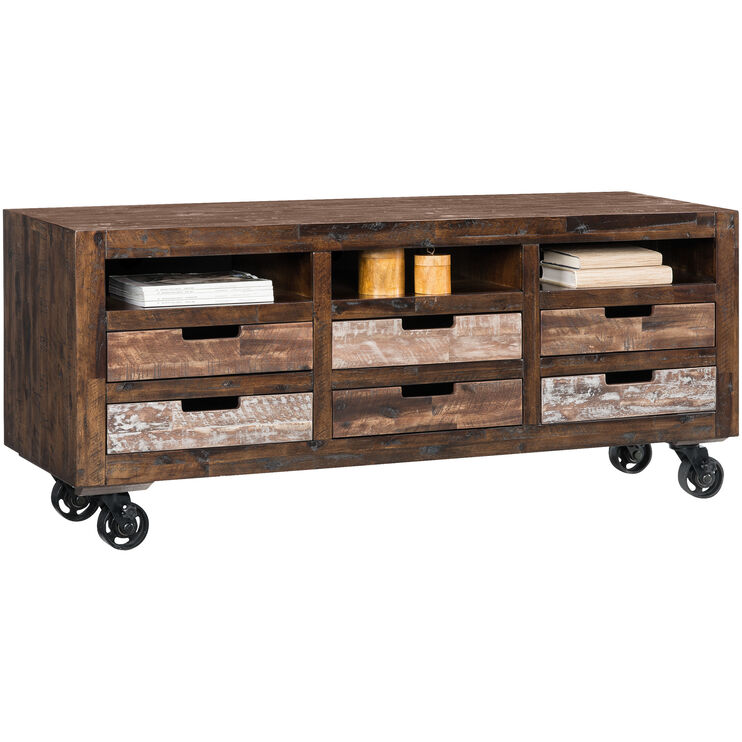 Painted Canyon Chestnut Console
